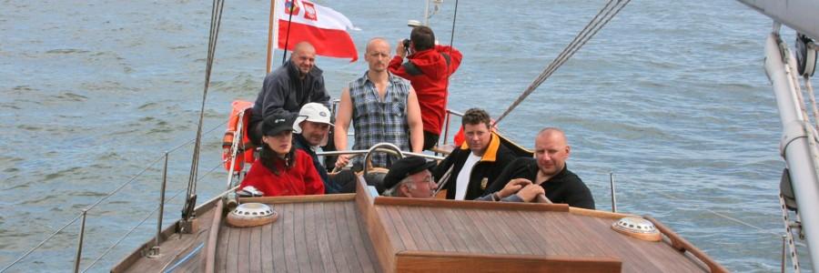 Rejs na S/Y Hetman do Kłajpedy.  lipiec 2008 rok.