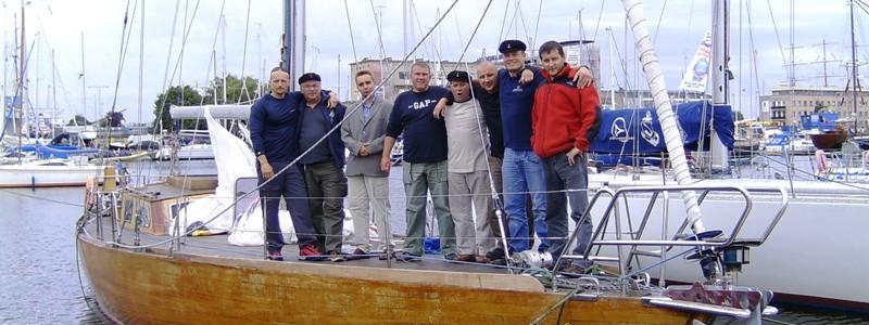 """""""Błękitna wstęga zatoki gdańskiej"""" Zdobywcy pucharu, wrzesień 2008"""