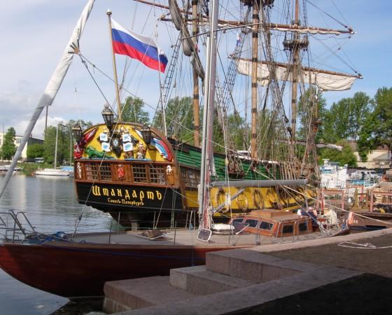 """Hetmanem"" do Talina i Petersburga.   maj-czerwiec 2006r."